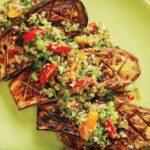 <pre>Recette: Comment faire l'aubergine grillé de Bobby Flay avec une chute de citron-miel