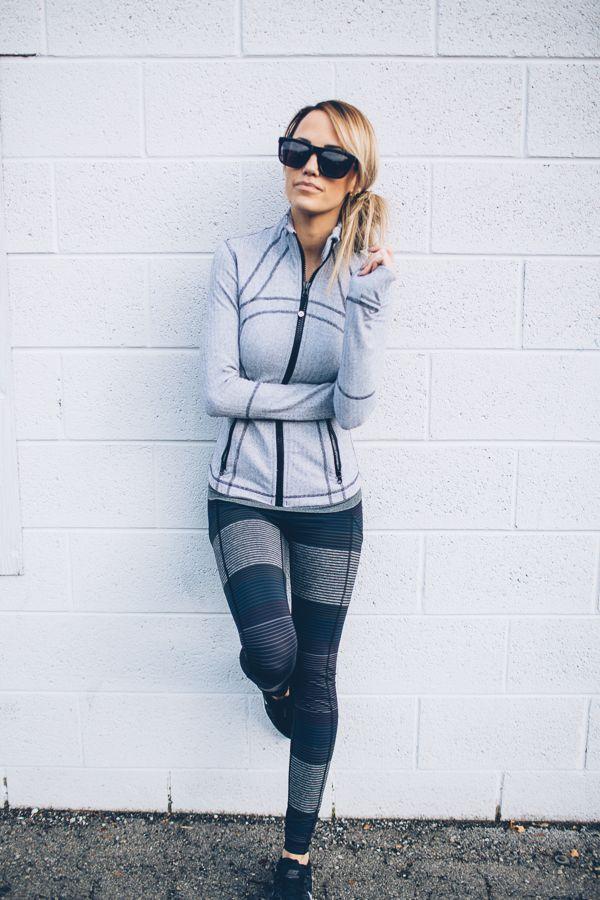 Fitness Outfits For Women Jacket Lulu Lemon Love This Leggings Lulu Lemon Shoes Nike Sunglasses