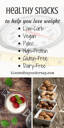 healthy recipes healthy snacks to help you lose weight allergy
