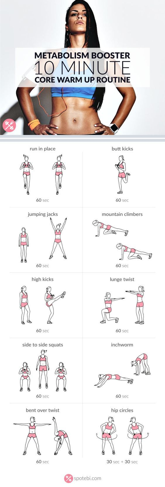 Fitness Motivation Warm Up Your Abs And Lower Back With This