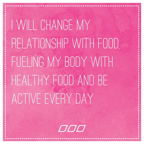 how can i change my relationship with food