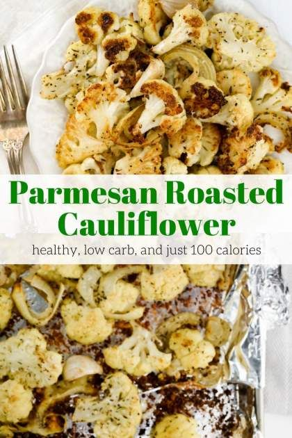 Healthy recipes parmesan roasted cauliflower is the most for The most delicious recipes