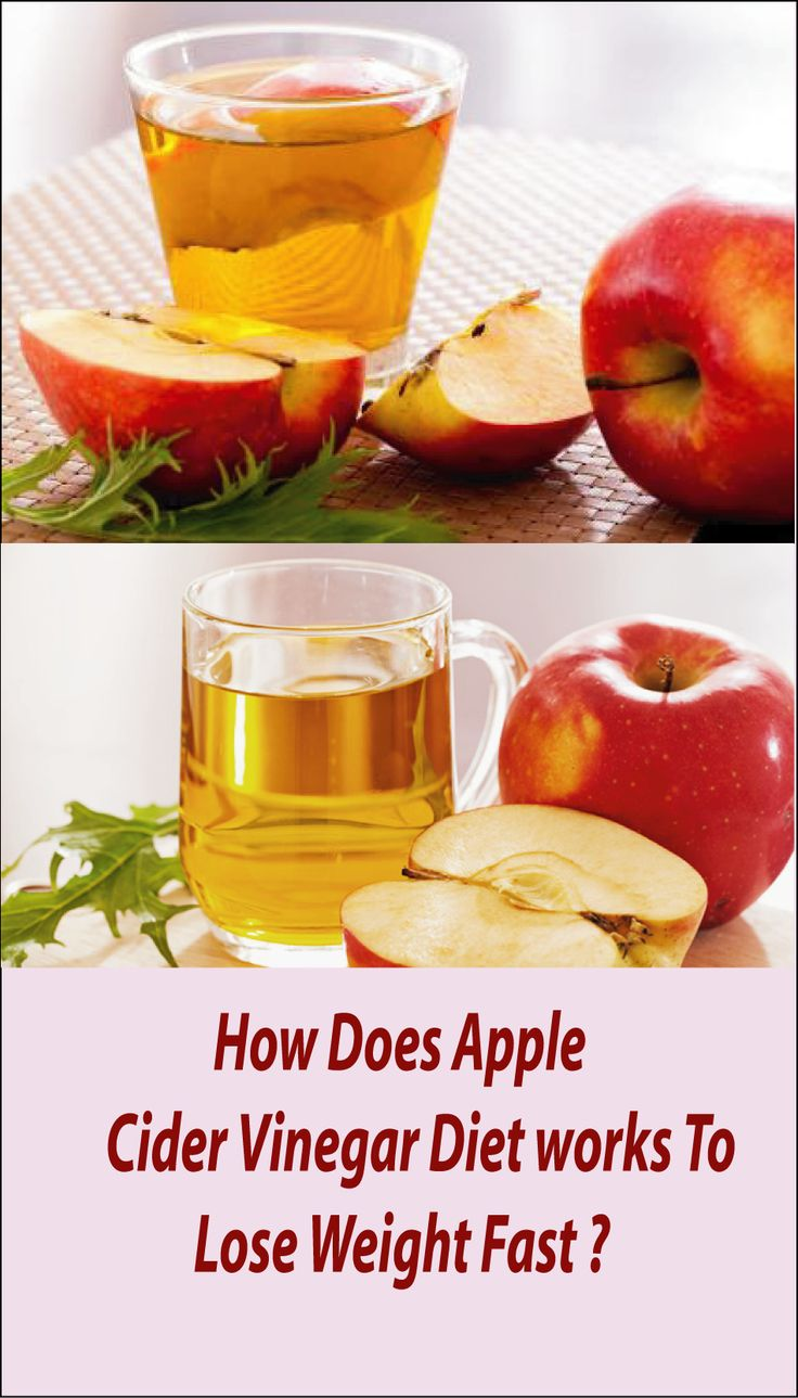 apple cider weight loss diet