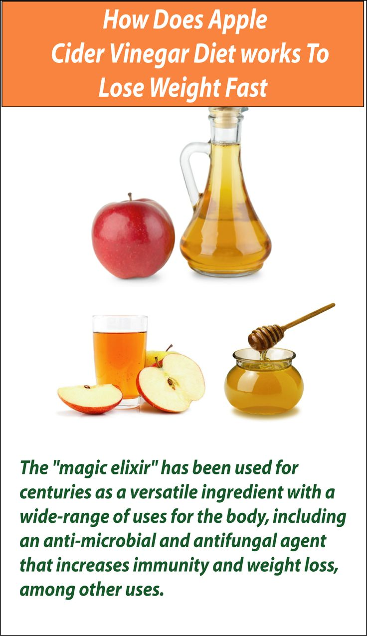 cider vinegar to help lose weight