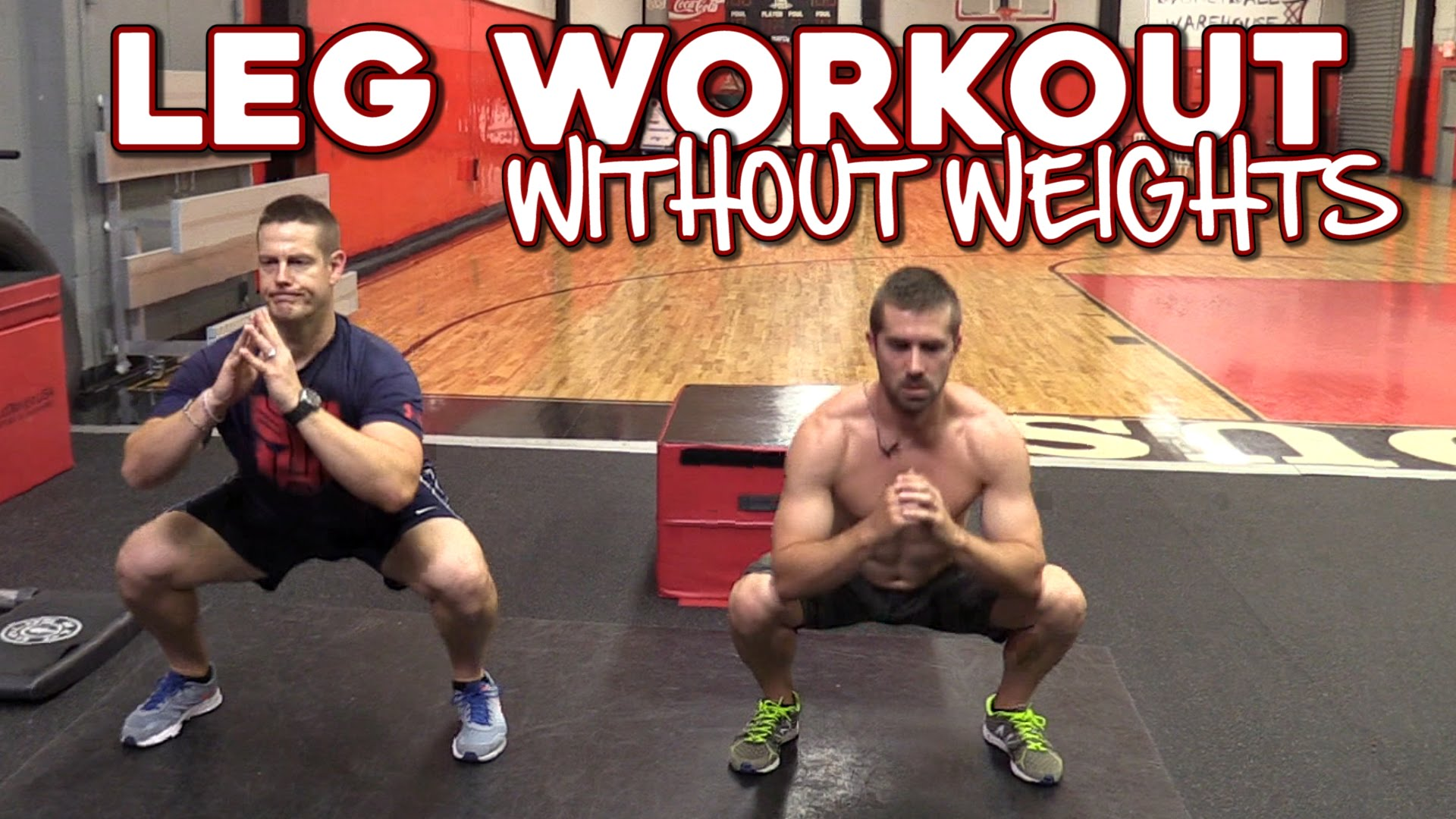 Workout tips video leg without weights