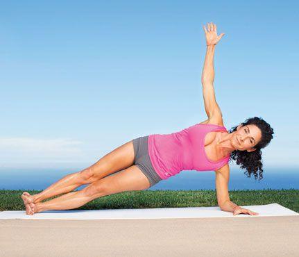 Description Jennifer Anistons Yoga Moves