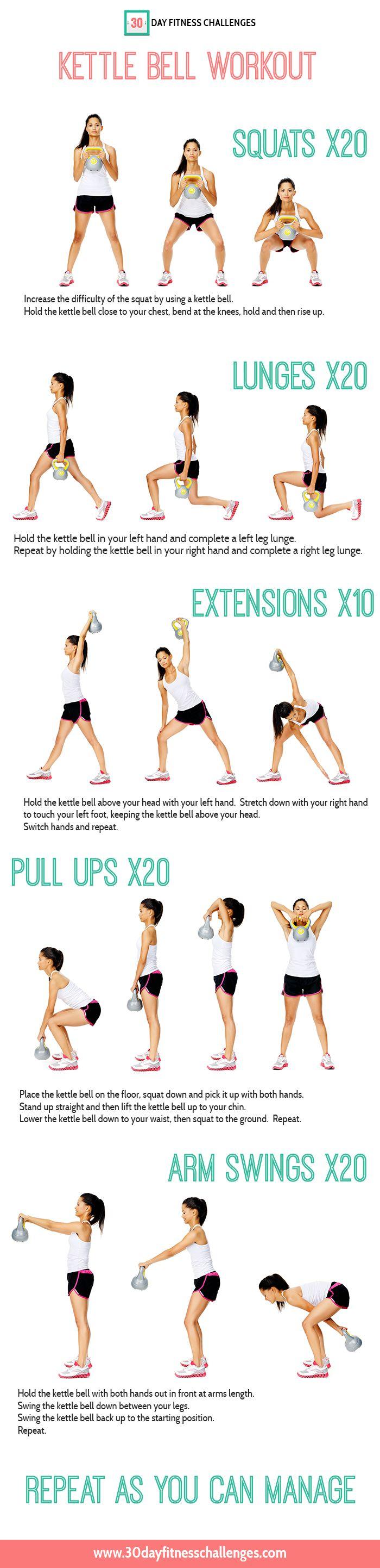 Fitness Inspiration Monica Forghani Gilvin Kettle Bell