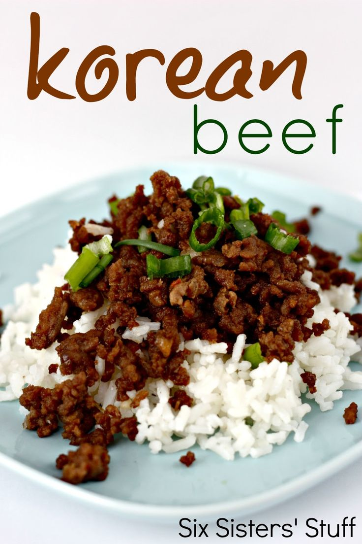 Healthy recipes korean beef and rice recipe from six sisters description korean beef and rice recipe from six sisters stuff healthy dinner forumfinder Choice Image