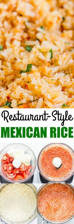 Restaurant Style Mexican Rice Vegan