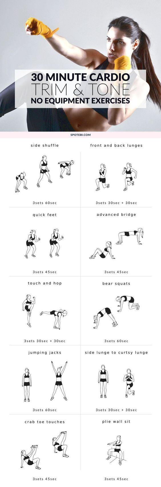 Workout Plans Work Your Legs Hips And Glutes With These Lower