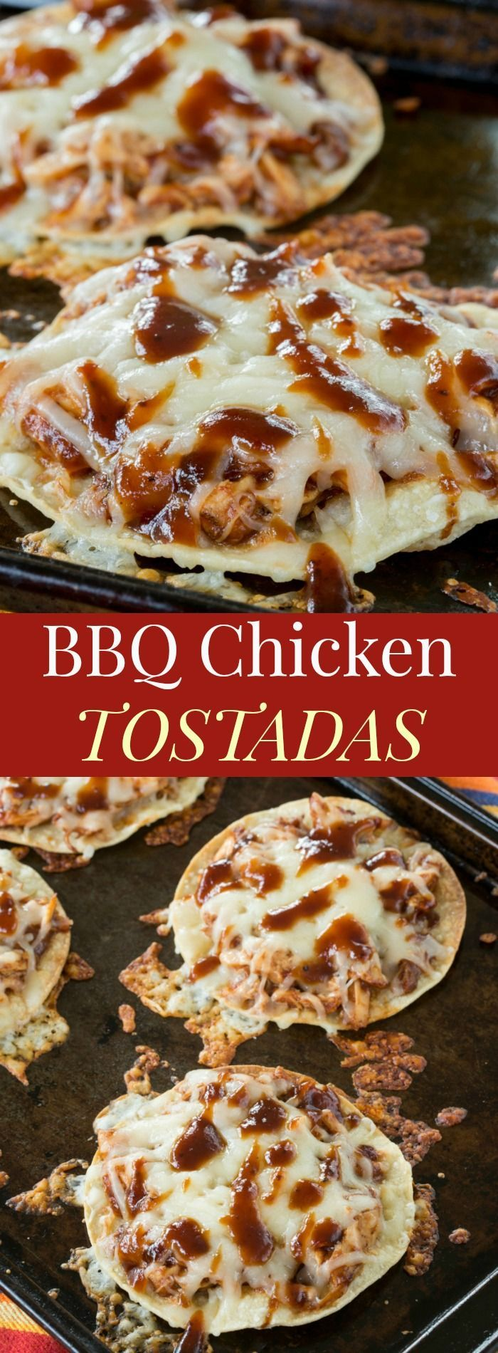 Healthy recipes bbq chicken tostadas a quick and easy family description forumfinder Choice Image
