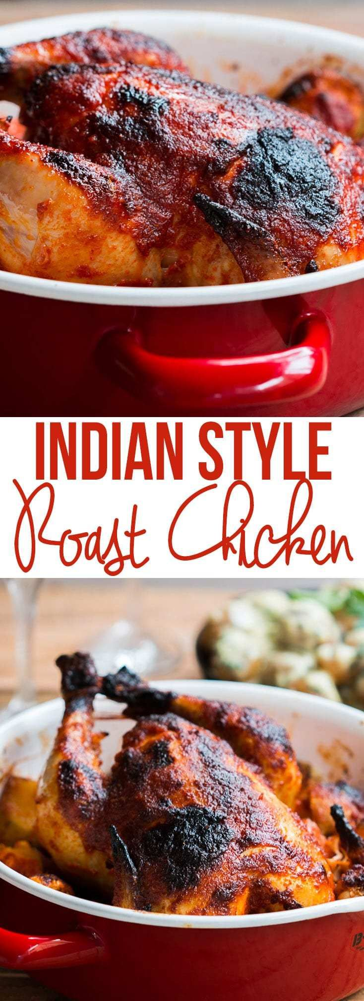 Healthy recipes indian style whole masala roast chicken my food healthy recipes forumfinder Gallery